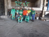 Midal Cables Mozambique - Break out and Rebuild and 55 Ton Holding Furnace